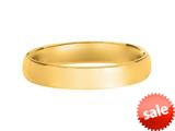 4mm Hollow Lightweight Wedding Band / Ring