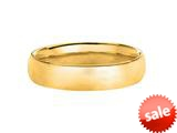 4.5mm Hollow Lightweight Wedding Band/ Ring