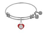 Angelica Heart Badge Expandable Bangle Collection style: WGEL1242