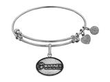 Angelica Collection Brass with White Finish U.S. Marines The Few. The Proud. Expandable Bangle style: WGEL1282