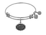 Brass With White Finish #1 Sister Charm For Angelica Bangle style: WGEL1789
