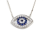 CZ Eye Necklace Style number: SB114