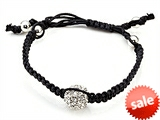 Adjustable Rhinestone Ball String Bracelet style: SB112