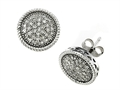 Genuine Round Diamonds Earrings