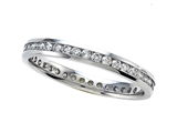 Round Diamonds Eternity Band - IGI Certified style: SK9146