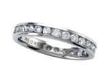 Round Diamonds Eternity Band - IGI Certified style: SK9150