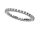 Round Diamonds Eternity Band - IGI Certified style: SK9303