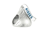 Hershey`s Kiss Small 3D Shaped Slide Bead/ Charm