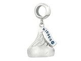 Hershey`s Kiss Small 3D Dangle Pandora Compatible Bead/ Charm style: AK0198BCHARMSS