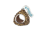 Hershey`s Kiss Brown CZ Small 3D Shaped Slide Bead/ Charm style: AK6707BCQS00SS