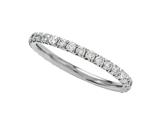 Round Diamonds French Pave Eternity Band style: 2049D
