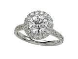 Diamond Round Ring