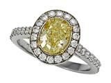 Natural Fancy Yellow Engagement Ring style: 4995