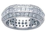 Karina B Princess Diamonds Eternity Band