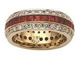Karina B™ Ruby Eternity Band style: 8006R