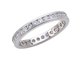 Karina B Round Diamonds Eternity Band