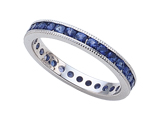 Karina B™ Sapphire Eternity Band style: 8016S