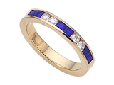 Karina B Genuine Sapphire Band