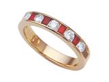 Karina B™ Ruby Band style: 8098R