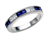 Karina B Sapphire Band