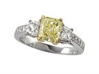 Natural FY Diamond Ring Style number: 4974