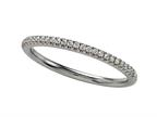Comfort Fit Diamond Round Pave Band Style number: 6253D