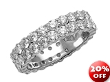 Karina B™ Round Diamonds Eternity Band style: 8267