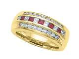 Karina B™ Genuine Ruby Band style: 2034R