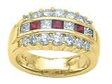 Karina B™ Genuine Ruby Band style: 2039R