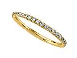 Round Diamonds French Pave Eternity Band style: 2121C