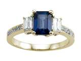 Genuine Sapphire Engagement Ring