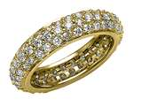 Round Diamonds Eternity Band