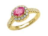 Pink Sapphire Ring style: 4797