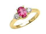 Genuine Pink Sapphire Ring style: 4804