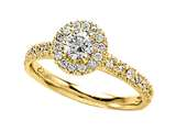 Diamond Round Engagement Ring style: 4992
