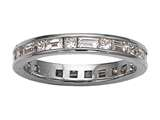 Karina B™ Baguette Diamonds Eternity Band style: 8002