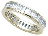 Karina B Baguette Diamonds Eternity Band