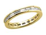 Karina B™ Baguette Diamonds Eternity Band style: 8004