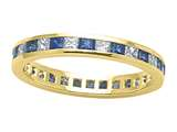 Karina B™ Genuine Sapphire Eternity Band style: 8020DS