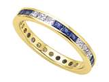 Karina B™ Genuine Sapphire Eternity Band style: 8022DS