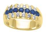 Karina B™ Genuine Sapphire Band style: 8023S