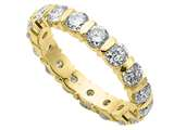 Karina B™ Round Diamonds Eternity Band style: 8026D