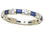 Karina B Sapphire Eternity Band