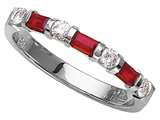 Karina B™ Genuine Ruby Band style: 8031R