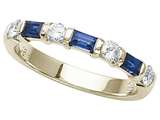 Karina B™ Genuine Sapphire Band style: 8031S