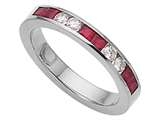 Karina B™ Genuine Ruby Band style: 8036R