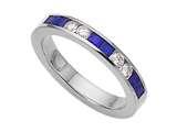 Karina B™ Genuine Sapphire Band style: 8036S