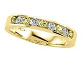 Karina B™ Round Diamond and Yellow Sapphire Band style: 8038Y