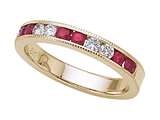 Karina B™ Genuine Ruby Band style: 8039R