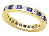 Karina B™ Genuine Sapphire Eternity Band style: 8043DS